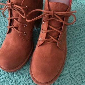 Womens Timberland style worker construction boots